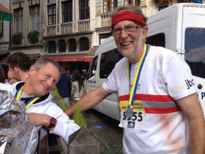 Fraternising with Valley Striders in Brussels