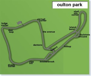 Oulton Park duathlon course