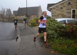 Gareth Cavill Kirkstall marathon