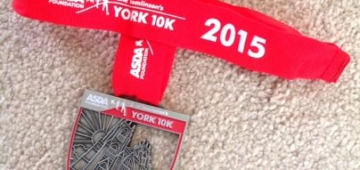 York 10K 2015 Medal