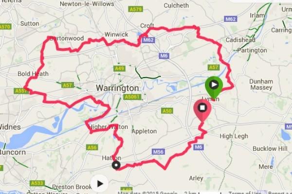 RACE RESULTS: Warrington Way 40 Mile Trail Race  – 7th November