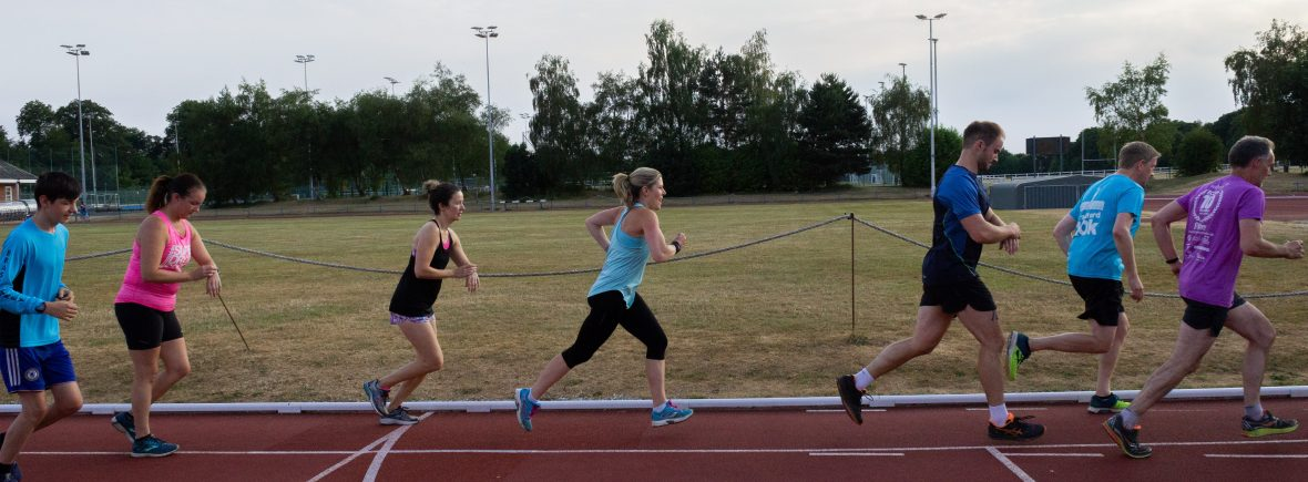 Track speed session